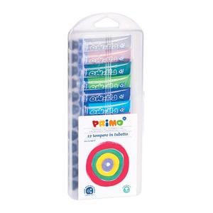 Tempera MOROCOLOR, 12 ml, 12 culori PSMMC15411