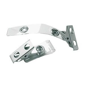 Clips ecuson VOLUM, metal, 25 bucati, gri PBPPV010401