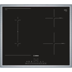 Plita incorporabila BOSCH PVS645FB5E, Inductie, 4 arzatoare, Touch control, negru PLTPVS645FB5E