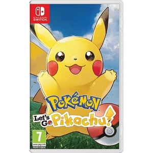 Pokemon: Let's Go, Pikachu! - Nintendo Switch JOCNSWPOKGOPIKA