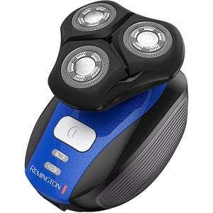 Aparat de ras REMINGTON Flex 360° XR1400, acumulator, autonomie 45 min, Tehnologie HyperFlex, negru-albastru RASXR1400