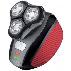 Aparat de ras REMINGTON Flex 360° XR1410, acumulator, autonomie 45 min, Tehnologie HyperFlex, negru-rosu RASXR1410