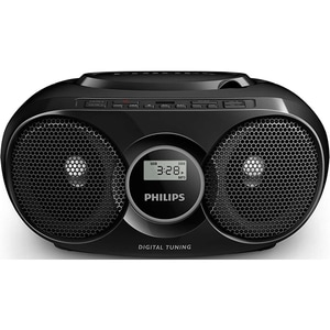 Radio CD PHILIPS Soundmachine AZ318B/12, FM, USB, negru RCDAZ318B-12