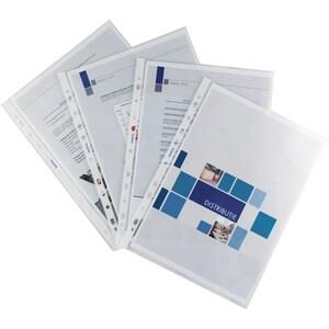 File de protectie documente NOKI Standard, A4, 100 bucati PBORP00200