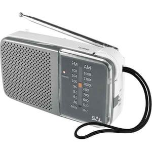 Radio portabil SAL RPC 2BX, FM, gri LMCRPC2BX