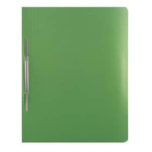 Dosar cu sina VOLUM, A4, carton, 10 bucati, verde PBORQ010614