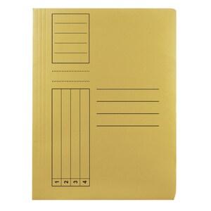 Dosar cu sina BASIC, A4, carton, 10 bucati, gaben PBORQ010615