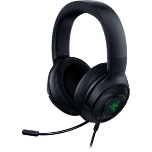 Casti Gaming Razer Kraken X Usb, 7.1 Surround, Usb, Negru-verde
