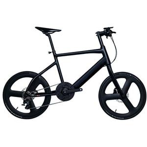 Bicicleta electrica KOOWHEEL Carbon S1, 20 inch, negru BCLBICEBIKES1