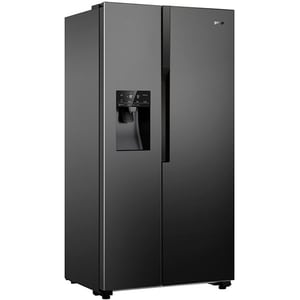 Side-by-Side GORENJE NRS9182VB, 535 l, 179 cm, A++, negru SBSNRS9182VB