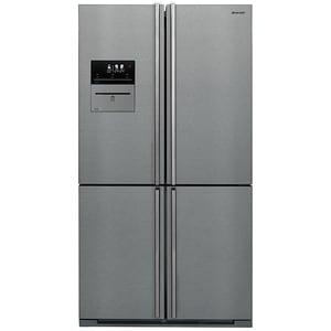 Side by Side SHARP SJ-F2560EVI, Advanced NoFrost, 556 l, H 185 cm, Clasa A++, VacPac Pro, inox SBSSJF2560EVIEU