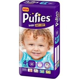 Scutece PUFIES Baby Art&Dry Maxi nr 4+, Unisex, 9 -16 kg, 50 buc SCB17359