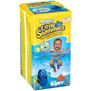 Scutece chilotei pentru apa HUGGIES Little Swimmers nr 2 - 3, Unisex, 3 - 8 kg, 12 buc SCB2183451