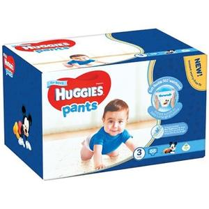 Scutece chilotei HUGGIES nr 3, Baiat, 6 - 11 kg, 88 buc SCB2558021