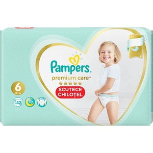 Scutece chilotei PAMPERS Premium Care Pants Mega Box nr 6, Unisex, 15+ kg, 42 buc SCB81704161