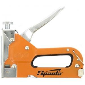 Capsator SPARTA 42002, pentru mobila, reglabil, capse 6-14mm, tip 53 + 200 capse SCL42002