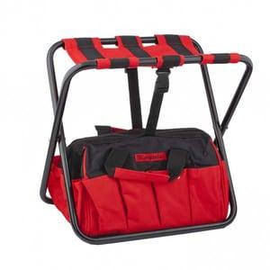 Geanta pentru scule tip scaun MTX, 42 x 29 x 30 cm, negru-rosu SCL902499