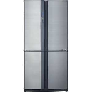 Side-by-Side SHARP SJ-EX770FSL, Hybrid Cooling, 556 l, H 172 cm, Clasa A++, argintiu SBSSJEX770FSL