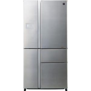 Side-by-Side SHARP SJ-PX830FSL, Hybrid Cooling, 665 l, H 185 cm, Clasa A++, argintiu SBSSJPX830FSL