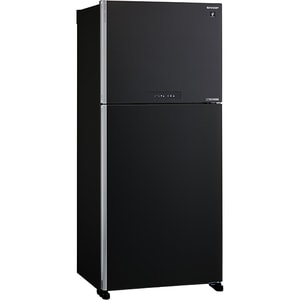 Frigider cu doua usi SHARP SJ-XG690MBK, Hybrid Cooling, 556 l, H 187 cm, Clasa A++, negru FRDSJXG690MBK