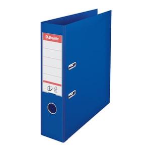 Biblioraft plastifiat ESSELTE Standard, A4, 75 mm, albastru PBOSL1105
