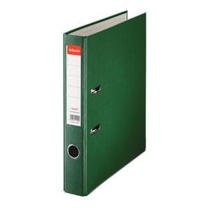 Biblioraft plastifiat/cartonat ESSELTE Economy, A4, 50 mm, verde PBOSL1306
