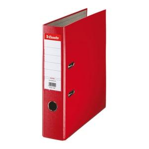 Biblioraft plastifiat/cartonat ESSELTE Economy, A4, 75 mm, rosu PBOSL1404