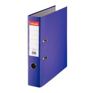 Biblioraft plastifiat/cartonat ESSELTE Economy, A4, 75 mm, violet PBOSL1410
