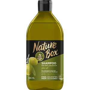 Sampon NATURE BOX Olive Oil, 385ml SMPHBNB0036