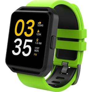 Smartwatch MAXCOM FitGo FW15 Square, Android/iOS, silicon, Verde SMWFW15GR