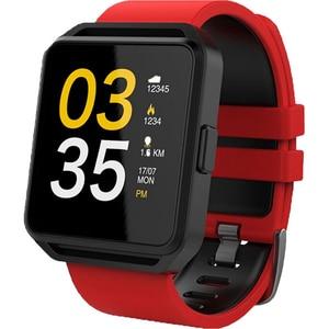 Smartwatch MAXCOM FitGo FW15 Square, Android/iOS, silicon, Rosu SMWFW15RD