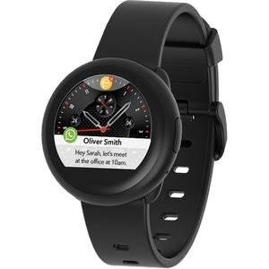 Smartwatch MYKRONOZ ZeRound3 Lite, Android/iOS, silicon, negru SMWKRO0007