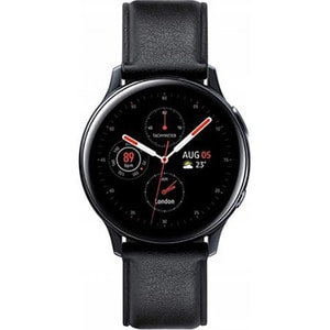 Smartwatch SAMSUNG Galaxy Watch Active 2 44mm, Wi-Fi, Android/iOS, Stainless steel, Black SMWSACTIVE244B
