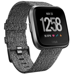 Smartwatch FITBIT Versa, Android/iOS, silicon, Charcoal SMWVERSACW