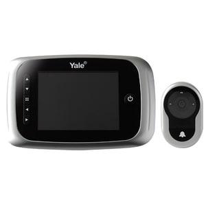 "Vizor electronic YALE DDV5500, LCD 3.5"", 4 x AA, argintiu SOIVIZELDDV5500"