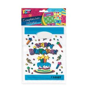 Set pungi pentru petreceri STYLEX, 10 bucati, diverse culori PBSSY014085