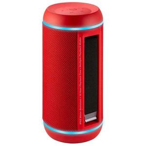Boxa portabila PROMATE Silox-Pro, Bluetooth, MicroSD, USB, Radio FM, Waterproof, rosu DOCSILOXPRORD