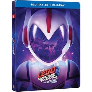 The LEGO Movie 2 Steelbook Blu-ray 3D BD-3DMEVELEG2ST