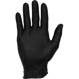 Manusi de protectie TANI-L, nitril, marime L, 100 buc, negru MEDTANIL