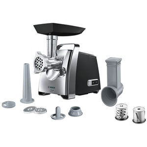 Masina De Tocat Carne Bosch Propower Mfw67440, 3.5kg/min, 2000w, Accesoriu Carnati/feliere/razuire/kebbe, Negru