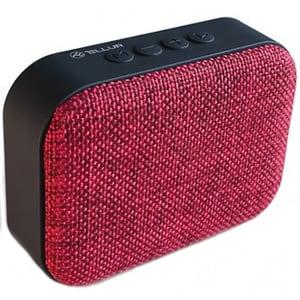 Boxa portabila TELLUR Calisto TLL161041, Bluetooth, radio FM, MicroSD, rosu DOCTLL161041