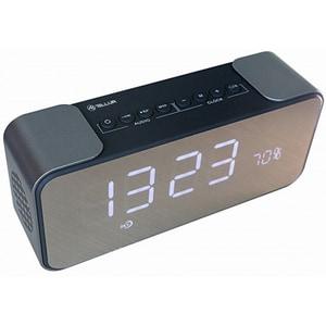 Boxa portabila TELLUR Hydra TLL161081, Bluetooth, Ceas, Radio FM, MicroSD, Negru DOCTLL161081