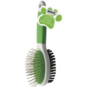 Perie dubla pentru animale WAHL 858454-016, verde TNS858454016