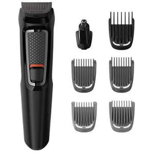 Set de ingrijire faciala PHILIPS  Multigroom series 3000 MG3720/15, 7 in 1, negru TNSMG3720-15