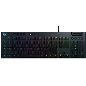 Tastatura Gaming mecanica LOGITECH G815 Linear Switch, USB, Layout INT, negru TAS920009008