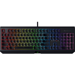 Tastatura Gaming mecanica RAZER BlackWidow, Green Switch, USB, Layout US, model 2019, negru TASRZ0328601R3M