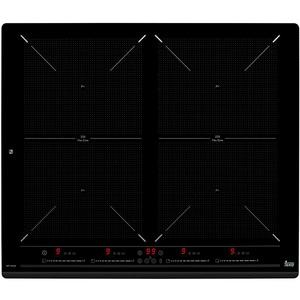 Plita incorporabila TEKA SPACE IZF 6424 , electrica/inductie, 4 zone de gatit, slider touch control individual, 2 zone extinse, negru PLTSPACEIZF6424