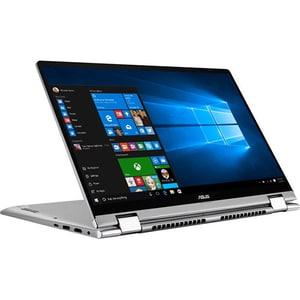"Laptop 2 in 1 ASUS ZenBook Flip 14 UM462DA-AI084T, AMD Quad Core R7-3700U pana la 4GHz, 14"" Full HD Touch, 8GB, SSD 512GB, AMD Radeon RX Vega 10, Windows 10 Home, gri LAPUM462DAI084T"