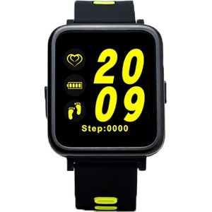 Smartwatch E-BODA Smart Time 350, Android/iOS, silicon, verde SMWT350GR