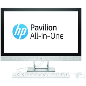"Sistem PC All in One HP Pavilion 27-r101nq, 27"" Full HD, Intel Core i3-8100T 3.1GHz, 4GB, 1TB, AMD Radeon 530 2GB, Free Dos AIO4XL66EA"